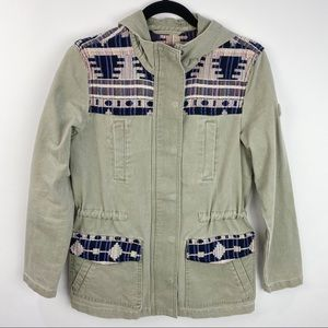 Tom Tailor midwest army green denim jacket